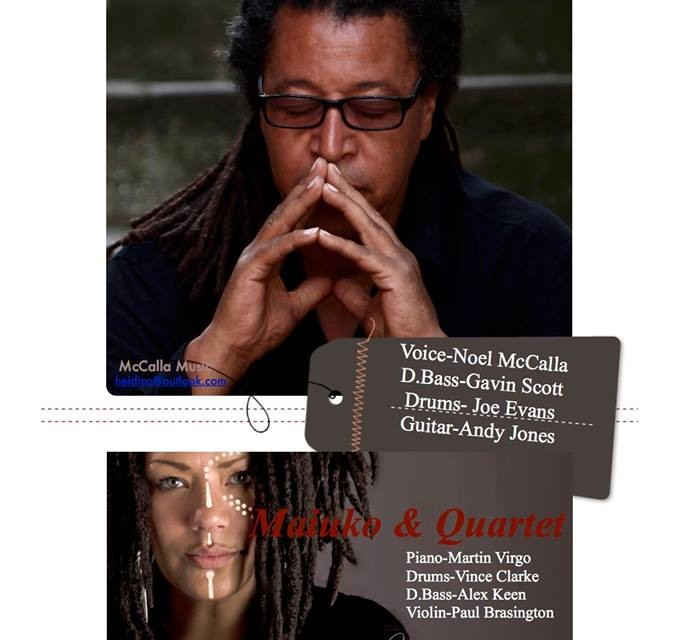 Noel McCalla Acoustic Quartet Fri 26th February 2016