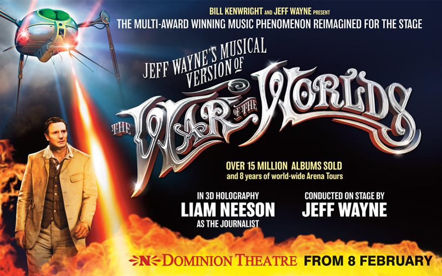 War of the Worlds – Dominion Theatre London